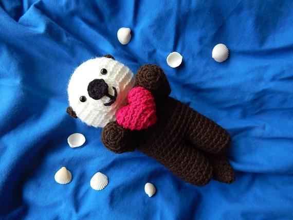Ponyta Amigurumi Pattern : Amigurumi Crochet Pattern Sea Otter Pattern No.56