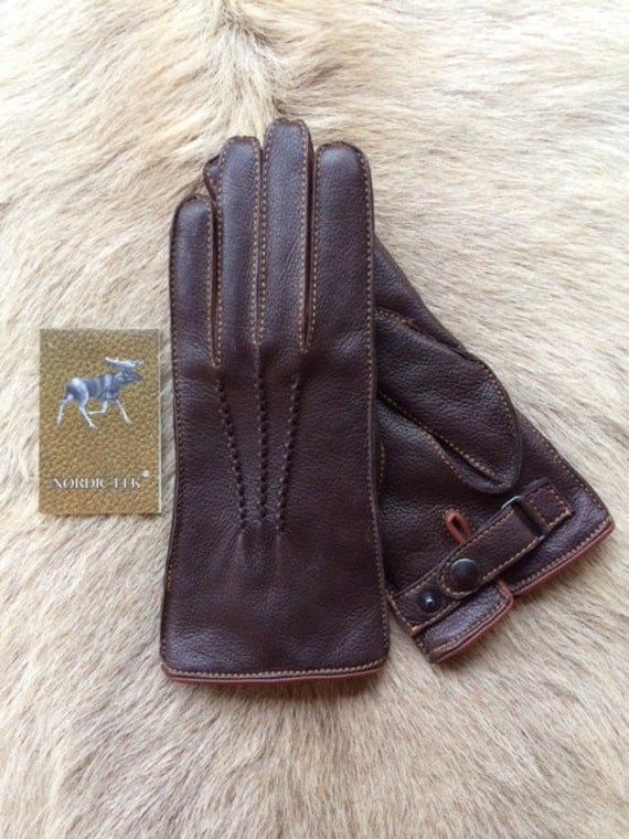 Women S Winter Leather Gloves With Cashmere Lining