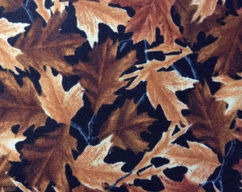 One Half Yard of Fabric - Packed Fall Leaves
