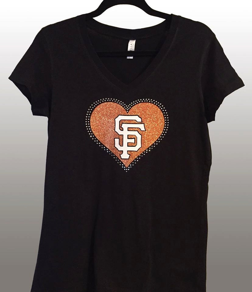 San Francisco Sf Giants Rhinestone Glitter By
