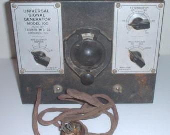 Universal Signal Generator Triumph Mfg.  circa 1950s