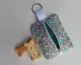 Dog Poop Bag Holder - Dog Treat Bag - Dog Poo Bag Holder - Attachable Leash Bag