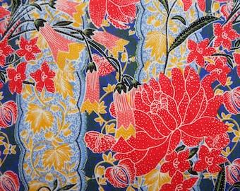 Vintage Batik Print Fabric