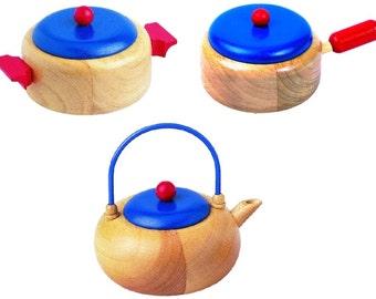 Utensil Set kettle, casserole and pot