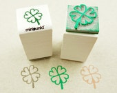Stamp with clover