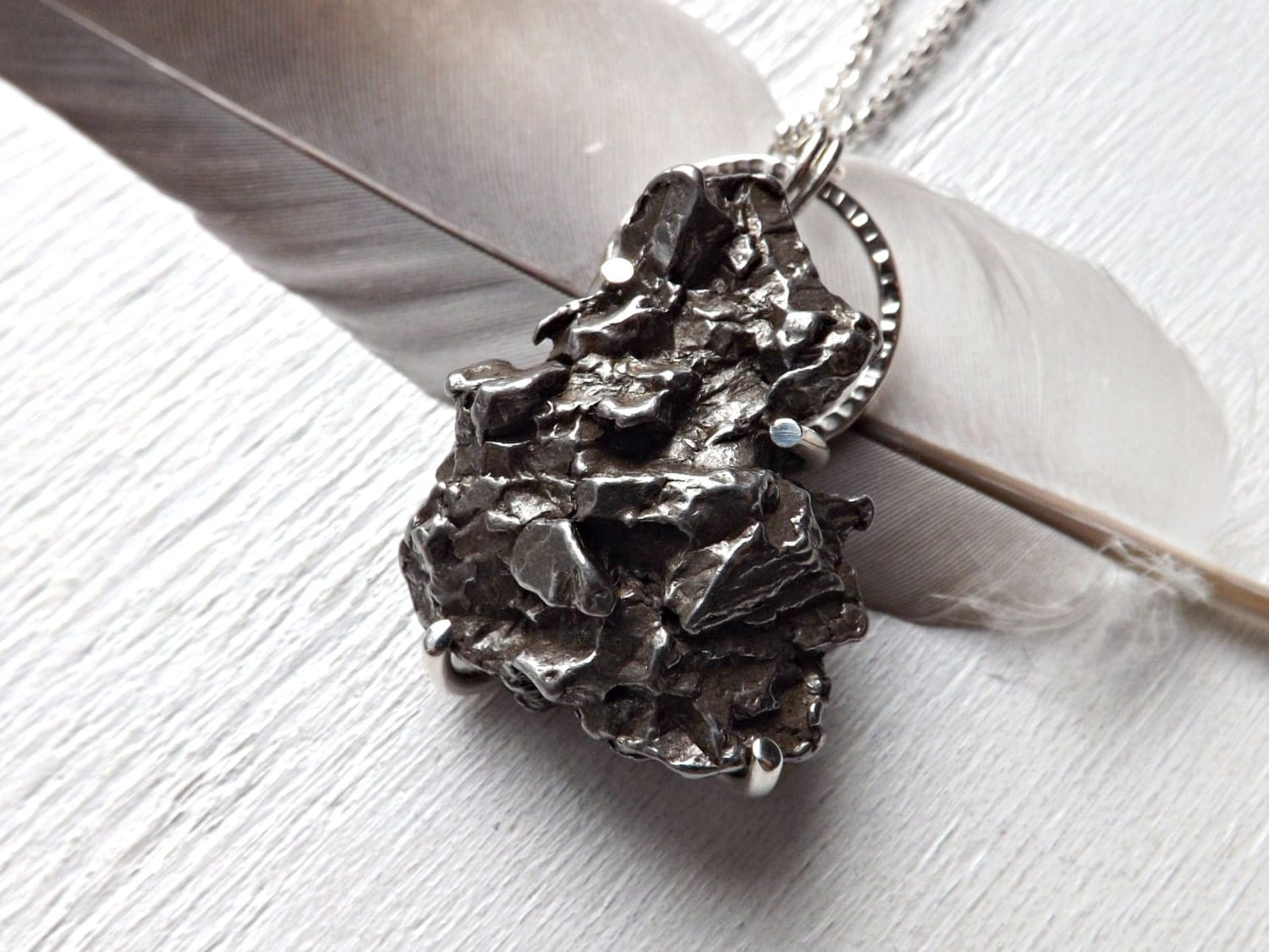 Meteorite Pendant Meteor Shower Necklace Shooting Star