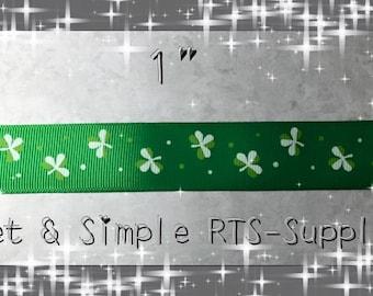 """1"""" St. Pattys Day Ribbon"""