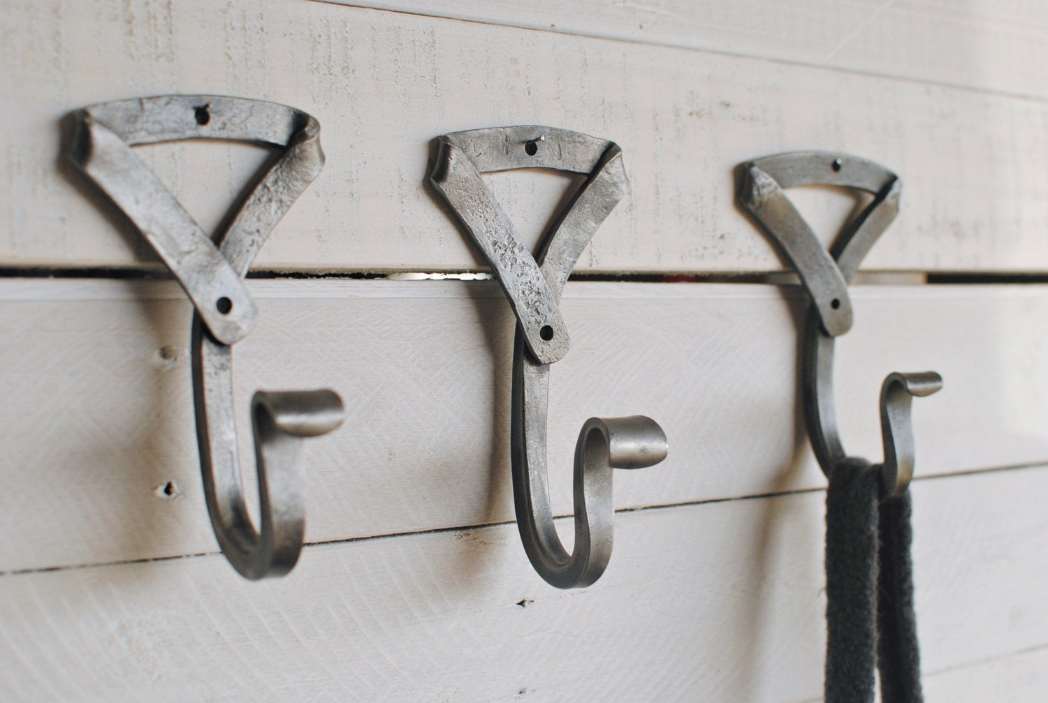 Hand Forged Wall Hook Entryway Coat Hook By Phoenixhandcraft