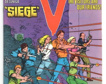 "V - ""Siege"" - Issue 12 - Jan 1986 - Copper - NM-  -  DC Comics"