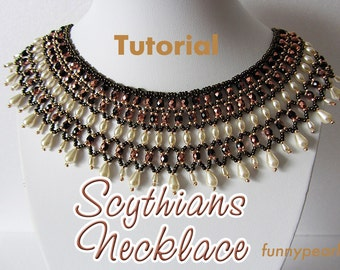 Necklace Scythians. Tutorial PDF