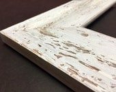 Wide Rustic Picture Frame, Farmhouse Distressed Frame, Distressed Picture Frame, Rustic Wedding Frame, 4x6, 5x7, 8x10, 11x14, 16x20, + more