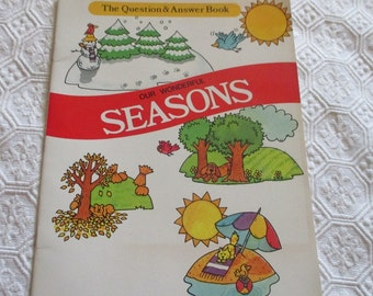 The Question and Answer Book Our Wonderful Seasons