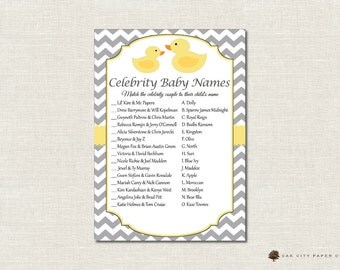 Celebrity Baby Names Answer Key - ANNIE HORN