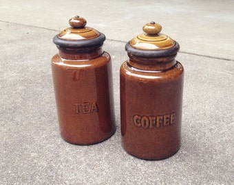 Tea and Coffee Storage Containers. Storage Containers (Set of 2). Kitchen Containers. Kitchen Storage. Coffee Container. Coffee Storage. Tea