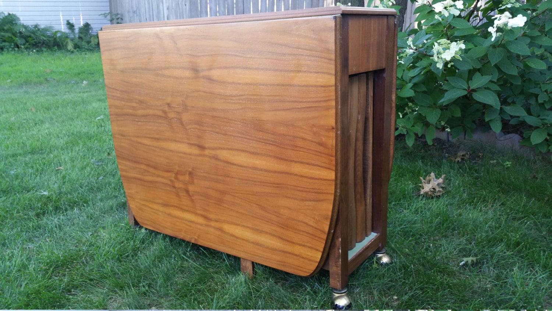 Vintage 68 Wood Gateleg Dining Table with 4 Storable  : ilfullxfull810133244oni1 from hautejuice.wordpress.com size 1500 x 844 jpeg 357kB