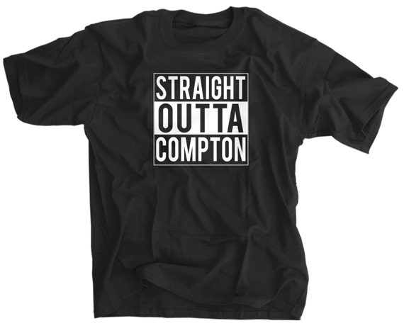 Items similar to Straight Outta Compton T Shirt on Etsy
