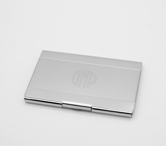 Personalized Business Card Case Engraved Card holder with