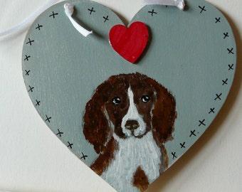 Love my dog heart