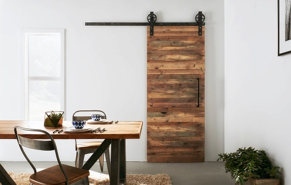 Like this item? - Custom Built Reclaimed Wood Sliding Door