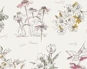 Sketchbook - Botanical Impression - Sharon Holland - Art Gallery Fabrics