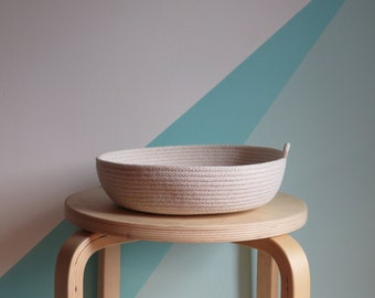 Fruit Bowl // Rope Dish for toys and storage // Home Decor