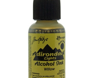 Tim Holtz Adirondack Alcohol Ink Lights WILLOW  0.5oz  (PM4012)