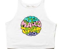 Miss Mary Jane Co. designed New Age Hippie Crop Top!