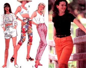 Simplicity Sewing Pattern 8377 Misses' Jeans in four lengths  Size:  Y  18-20-22  Uncut