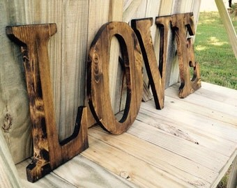 Wooden Love Sign, Wall decor, home decor, wall hanging