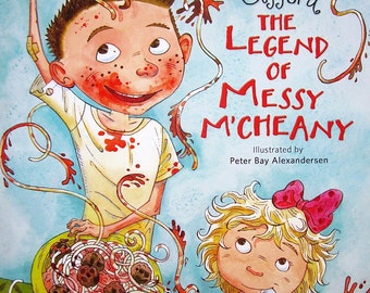 The Legend of Messy M'cheany by Kathie Lee Gifford, First Edtion, Hardcover