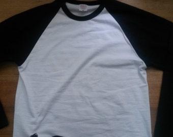 Baseball Long Sleeve T-shirt Top 60s Vintage Style Sportswear 70s Clothing Jersey