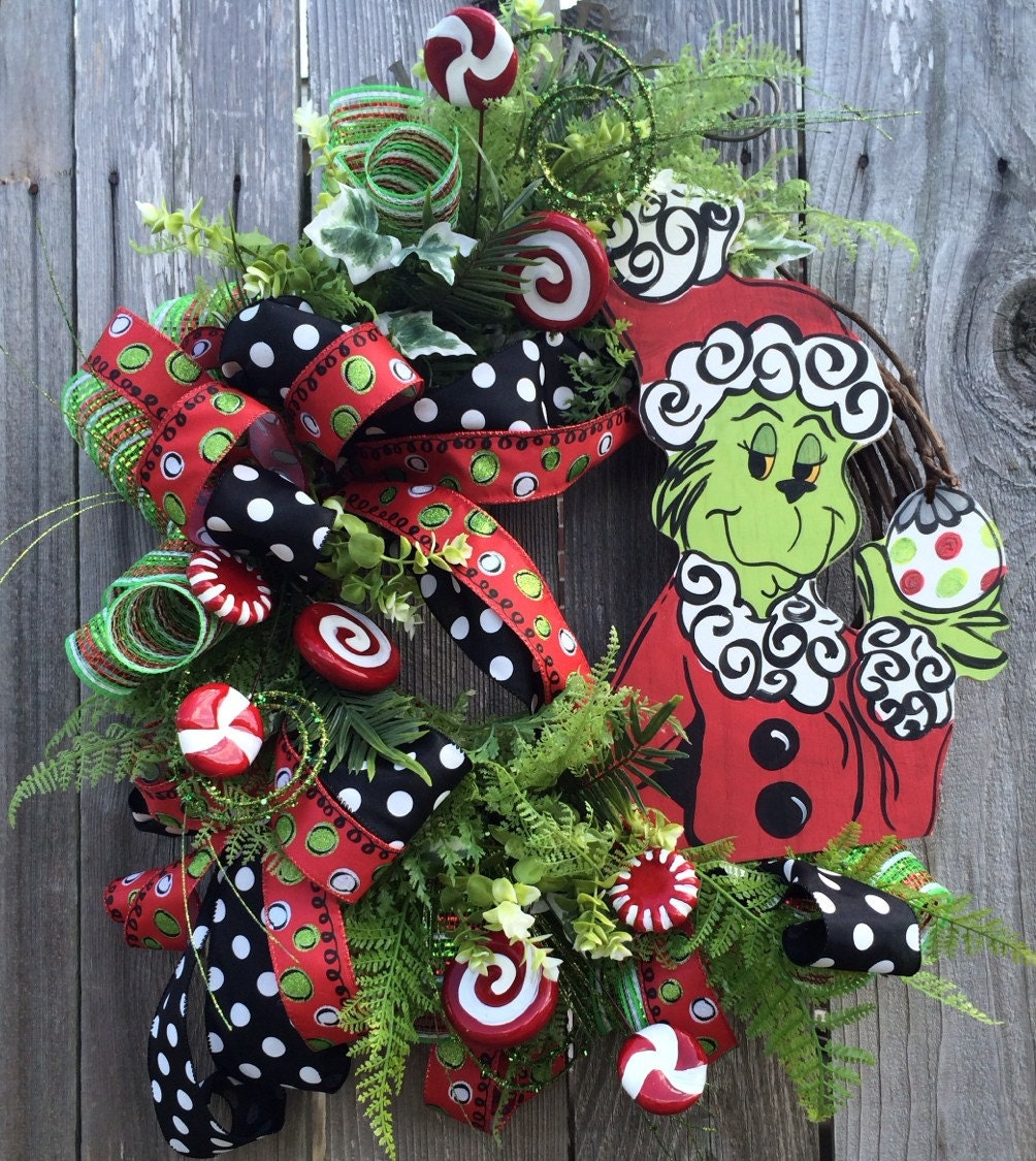 Christmas Wreath Christmas Decor Christmas Door Holiday