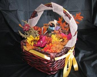 Fall Crow Centerpiece