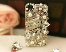 DIY 3D Bling Cell Phone Case Deco Kit nail art DIY cellphone case