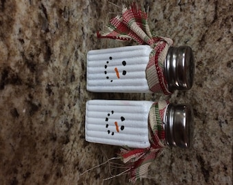 Snowmen Salt n Pepper shakers