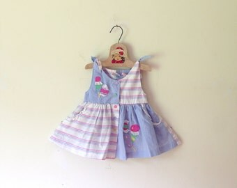 Vintage Candy Girl Dress/Top (Size 12 Months)