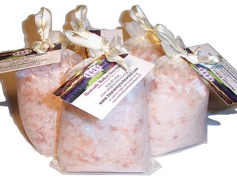 Pink Himalayan Bath Salt ~ PLAIN ~ 1LB Bag ***** SEE our main web: www.Heavenlyhollowdist.com for other salt lamp products