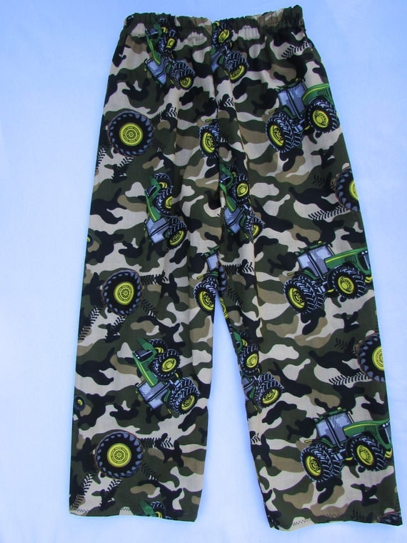 Tractor camoflauge pajamas/Father and son pajamas/Father and son/Camoflauge pants/boys pajamas/mens pajamas/Daddy and me pajamas