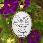 Custom Designed Handmade Scripture Jewelry By Redeemedjewelry
