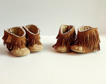 Fringe Baby Cowboy Boots, baby cowgirl boots, western cowboy boots, baby booties, boy, girl, neutral
