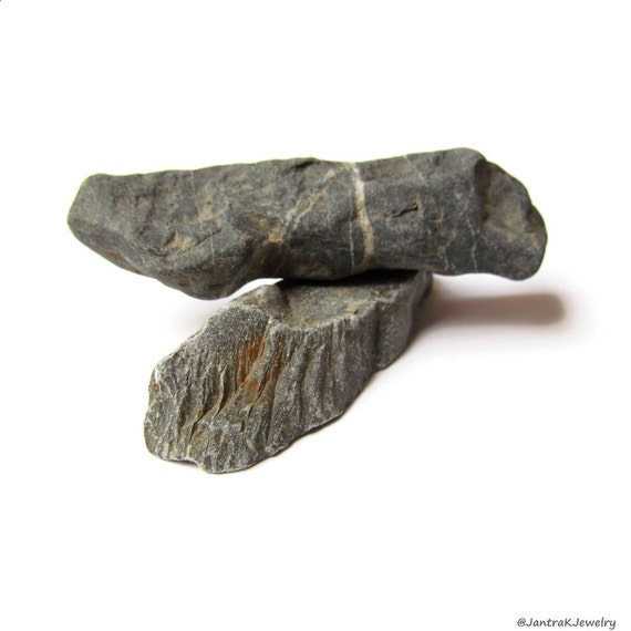 Flat Rock Stone : Gray stone sticks grey flat river rocks miniature rock for