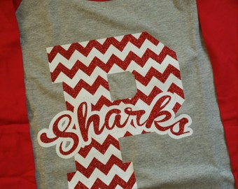 School spirit, Spirit Wear, Mascot, Team shirts, school shirts, Baseball Tee, Chevron, Team, School Shirt