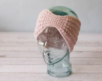Crochet Ribbed Headband - READY TO SHIP