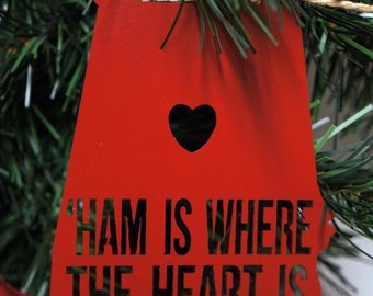 Ornament 'Ham Is Where The Heart Is