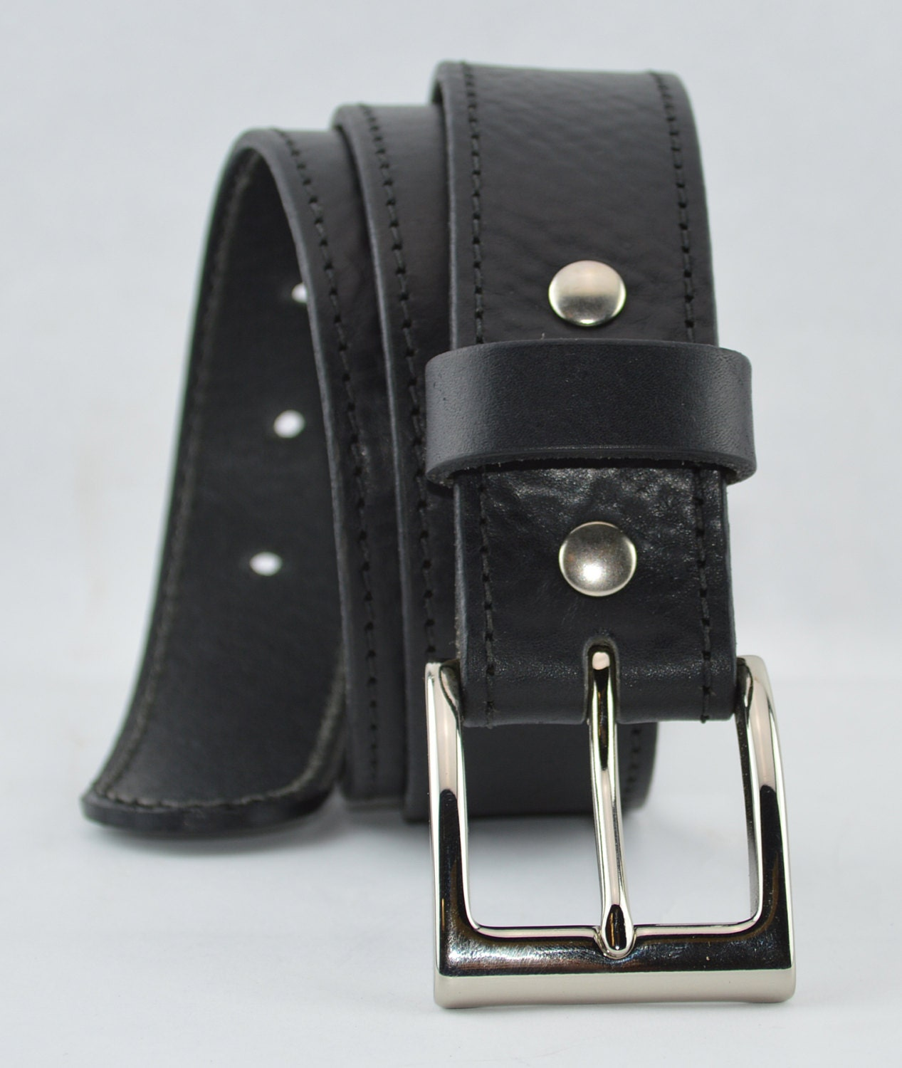 s leather belt 1 1 2 inch wide handcrafted usa