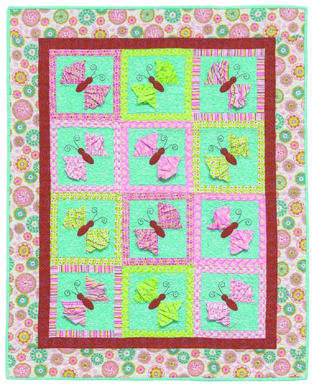 Quilt Book Sale Kristin Roylance *Holiday Gift *Baby Shower *Birthday Gift Applique Butterflies