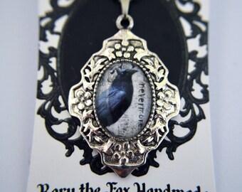 Edgar Allan Poe, The Raven, Nevermore necklace