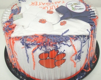 Clemson Tigers Baby Clothing Gift Set