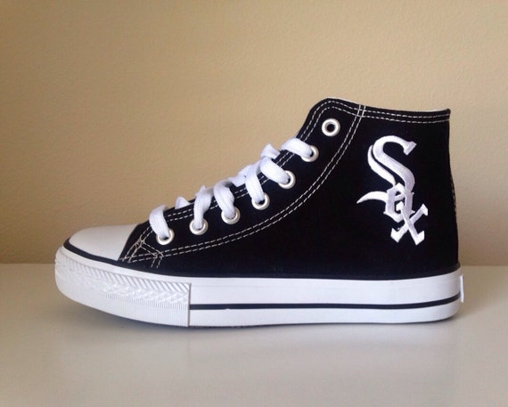 chicago white sox black high top shoes s by