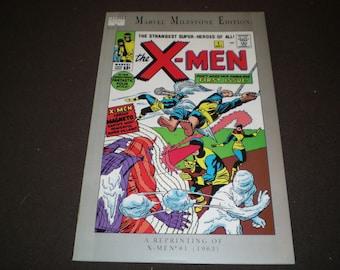 Marvel Milestone Edition 1, (1991), X-Men 1 (1963), Marvel Comics KM